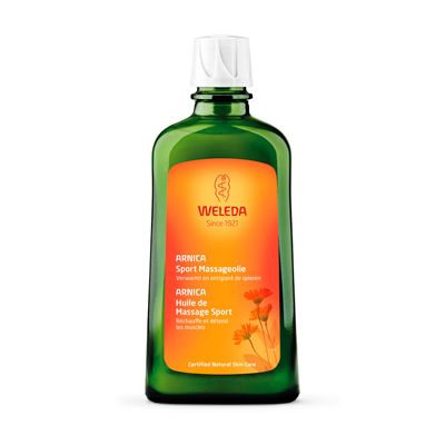 Massageolie arnica van Weleda, 1x 200ml